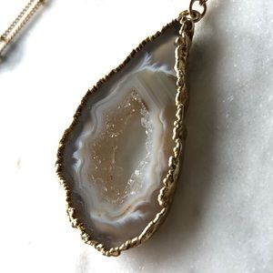KEI Jewelry Jewelry - Geode Pendant Necklace